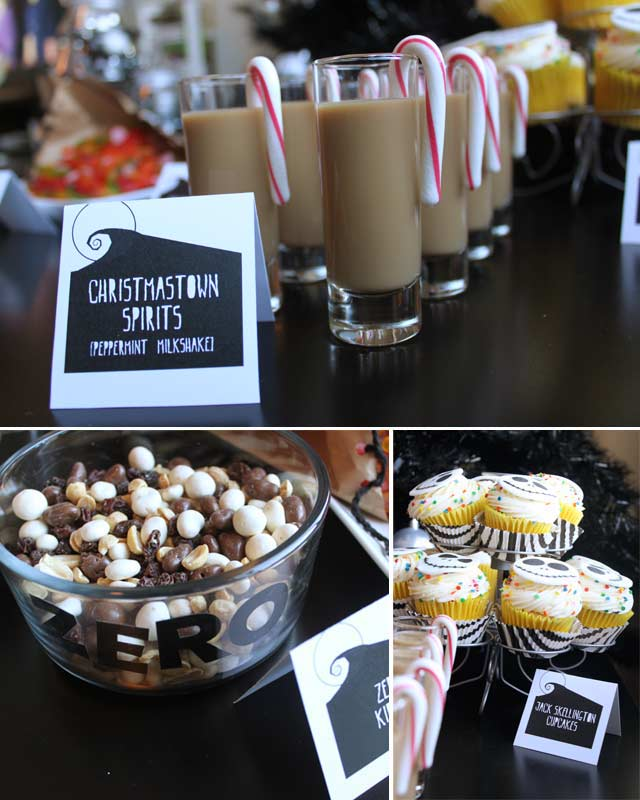 The Nightmare Before Christmas Dessert Bar Taryn Williford