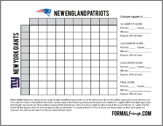 super bowl 2015 squares template - 2015 super bowl square grid template new calendar