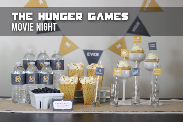 The Hunger Games Movie Night and Free Printables – Movie Night Invitations Free Printable