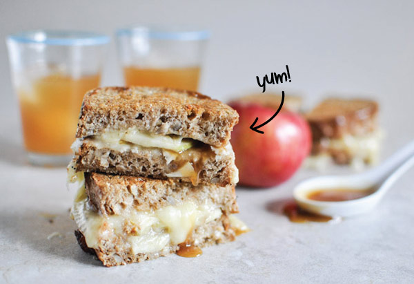think the combination of Apples and Brie cheese is what makes me ...