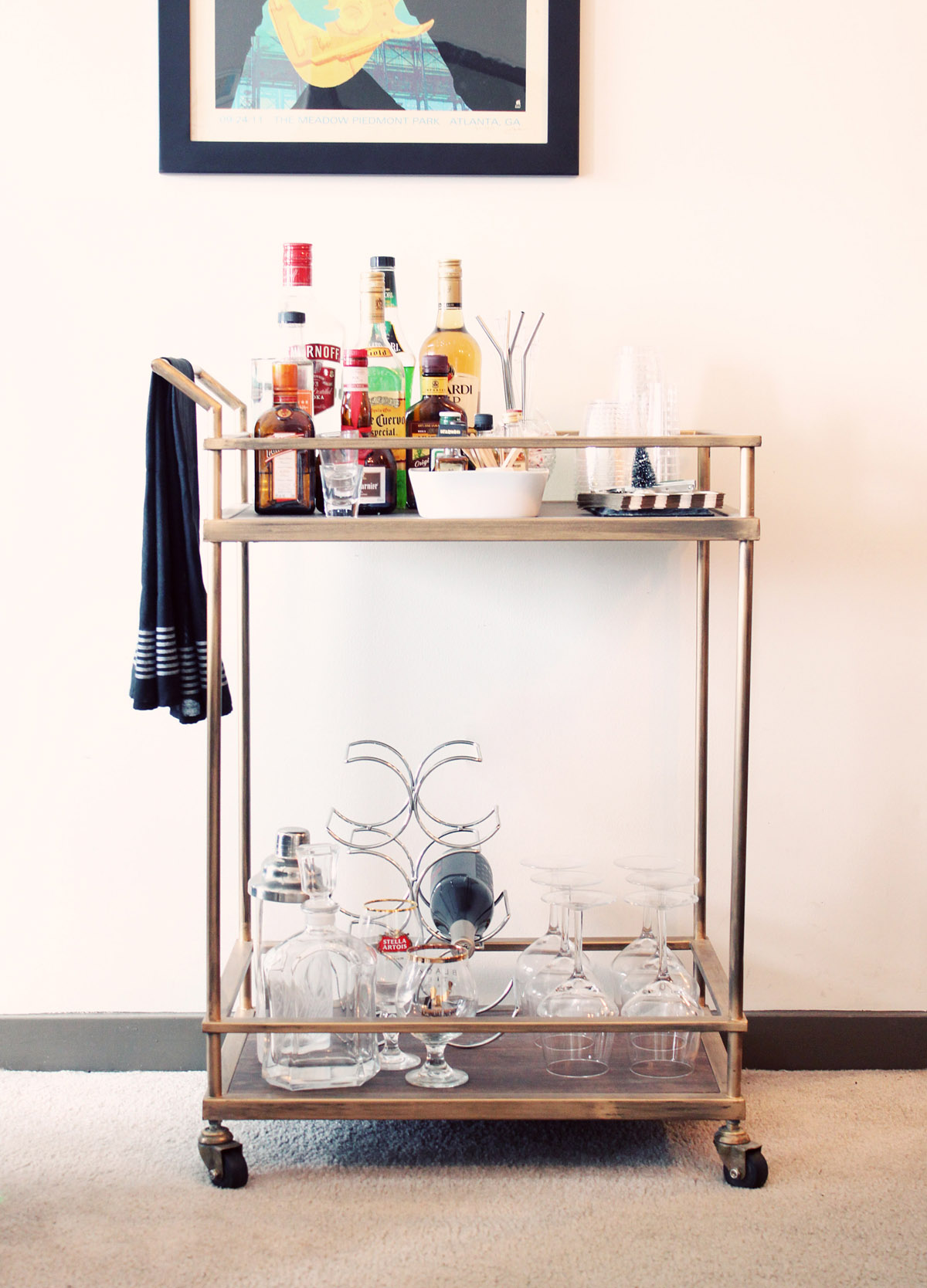 Threshold Bar Cart from Target