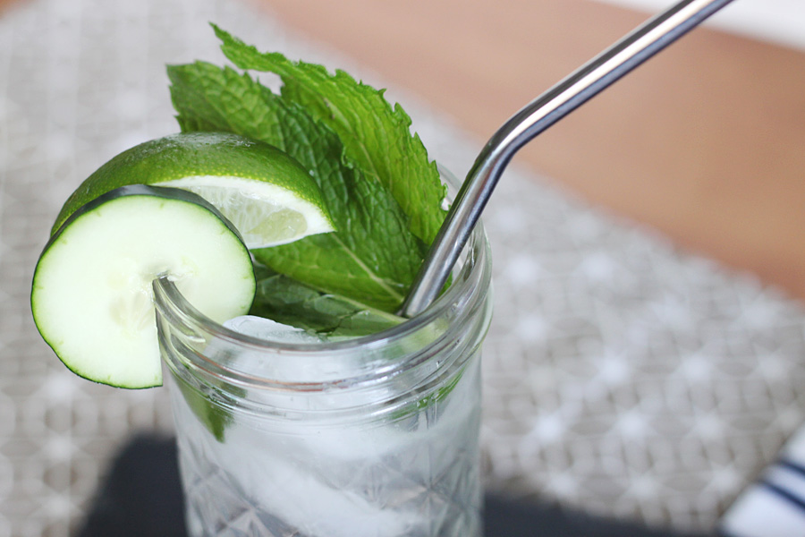 Skinny Cucumber Vodka Cocktail