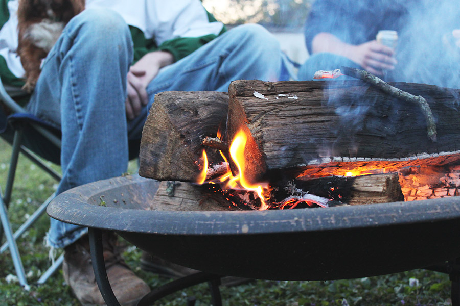 Spring Weekend Fire Pit