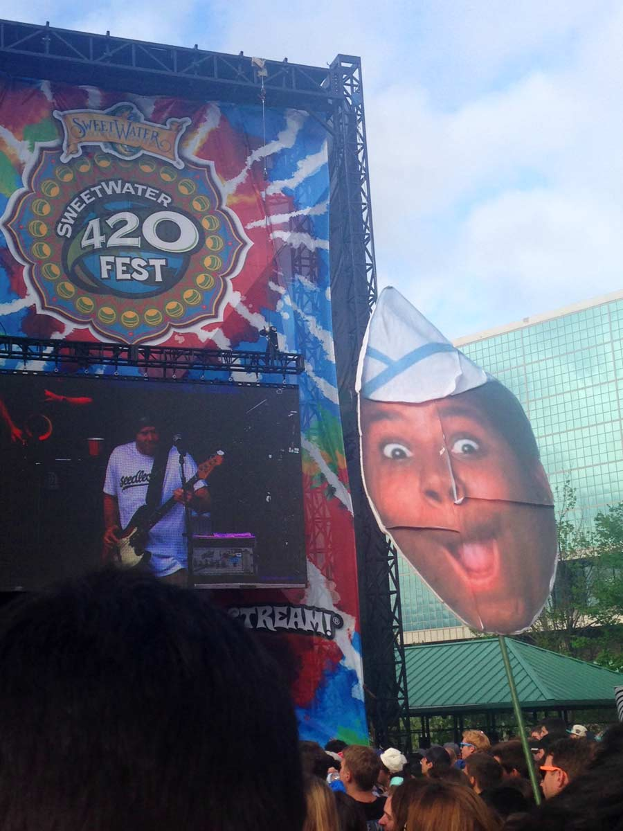Funny Festival Poles: Kenan Thompson from Goodburger