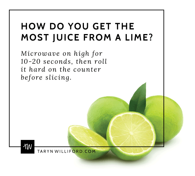 An Easy Trick to Get the Most Juice Out of a Lime