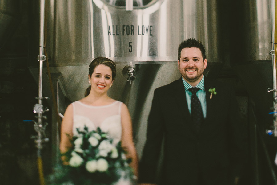 Monday Night Brewery Wedding