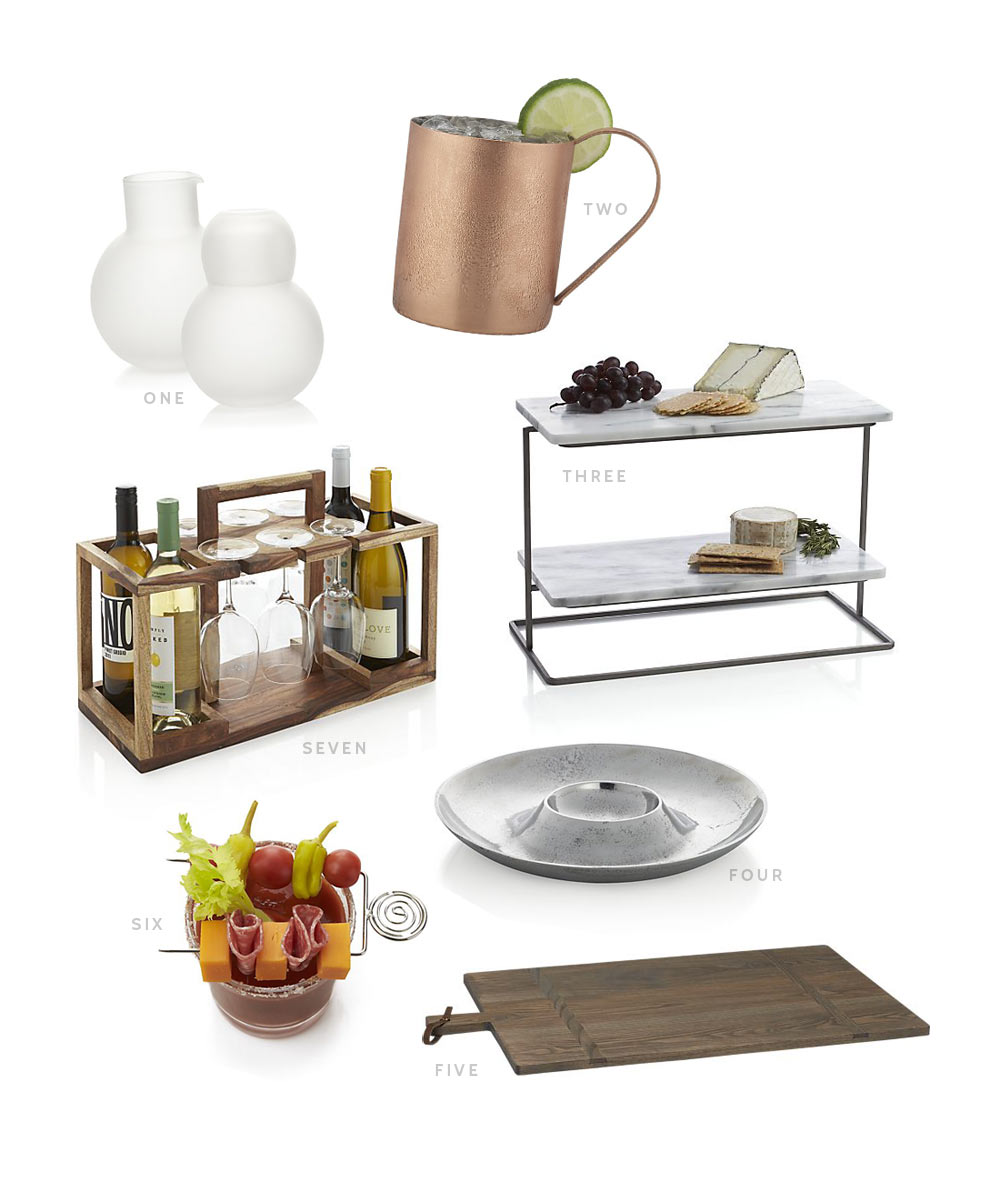 Affordable Entertaining Essentials from Crate & Barrel