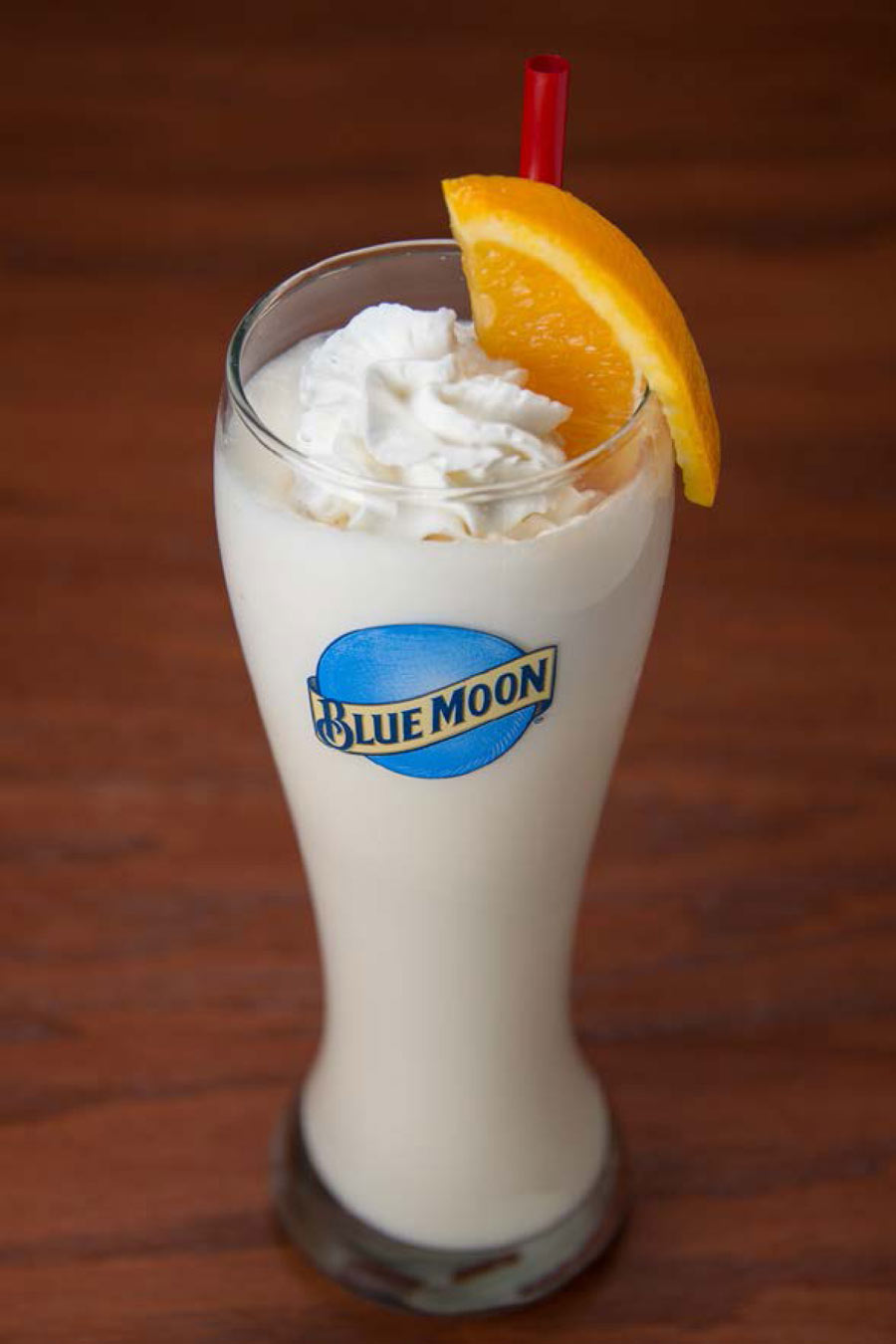 Red Robin Blue Moon Beer Milkshake