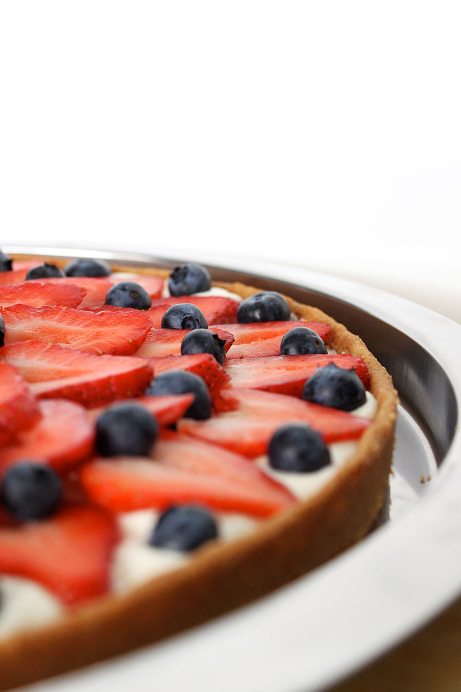 Strawberry Cookie Tart Recipe