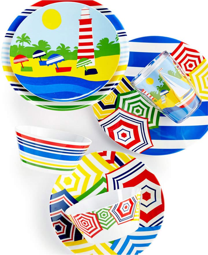 Martha Stewart Coastal Summer Dinnerware