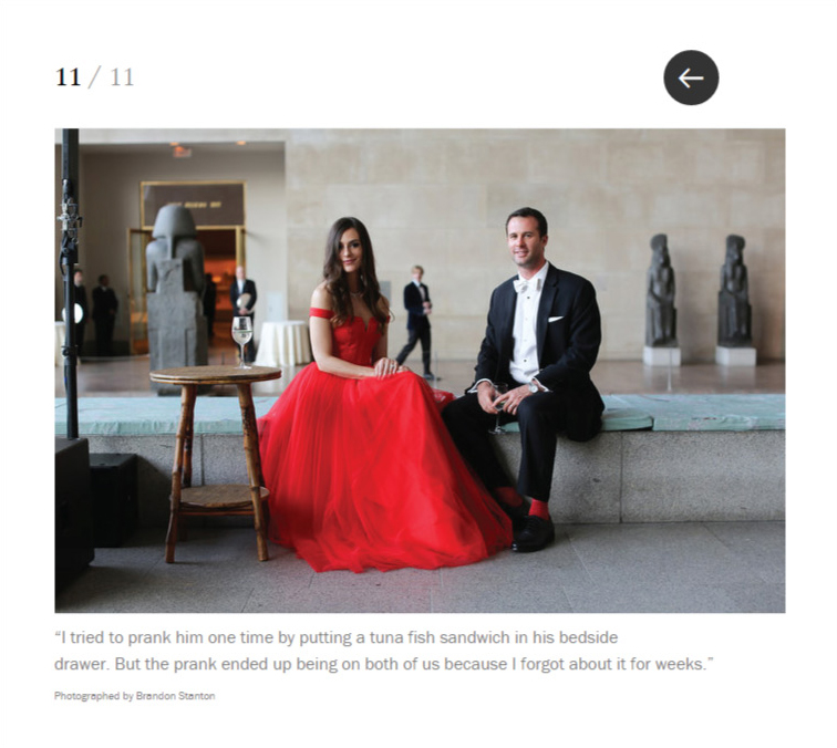 Humans of New York Does the Met Gala