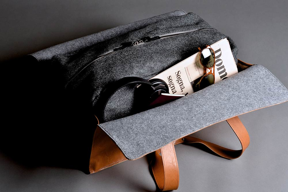 Hard Graft 1st Edition Leather Travel Hold-All Bag