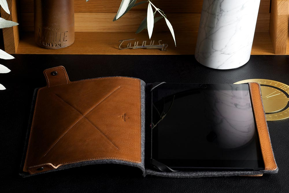 Hard Graft Leather iPad Air Tilt Case & Stand
