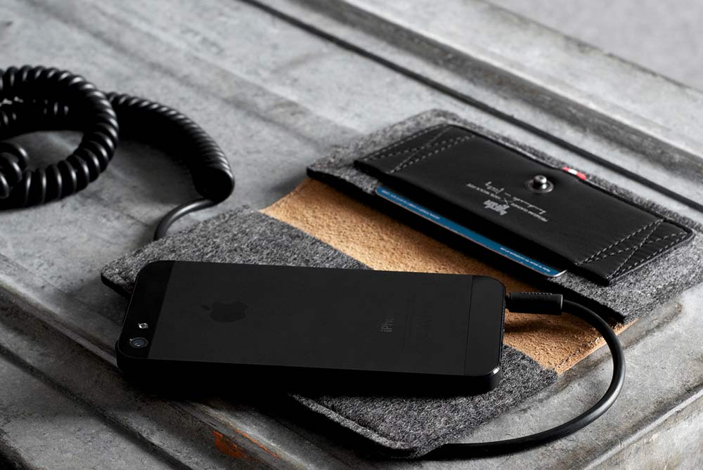 Hard Graft Leather iPhone Wallet
